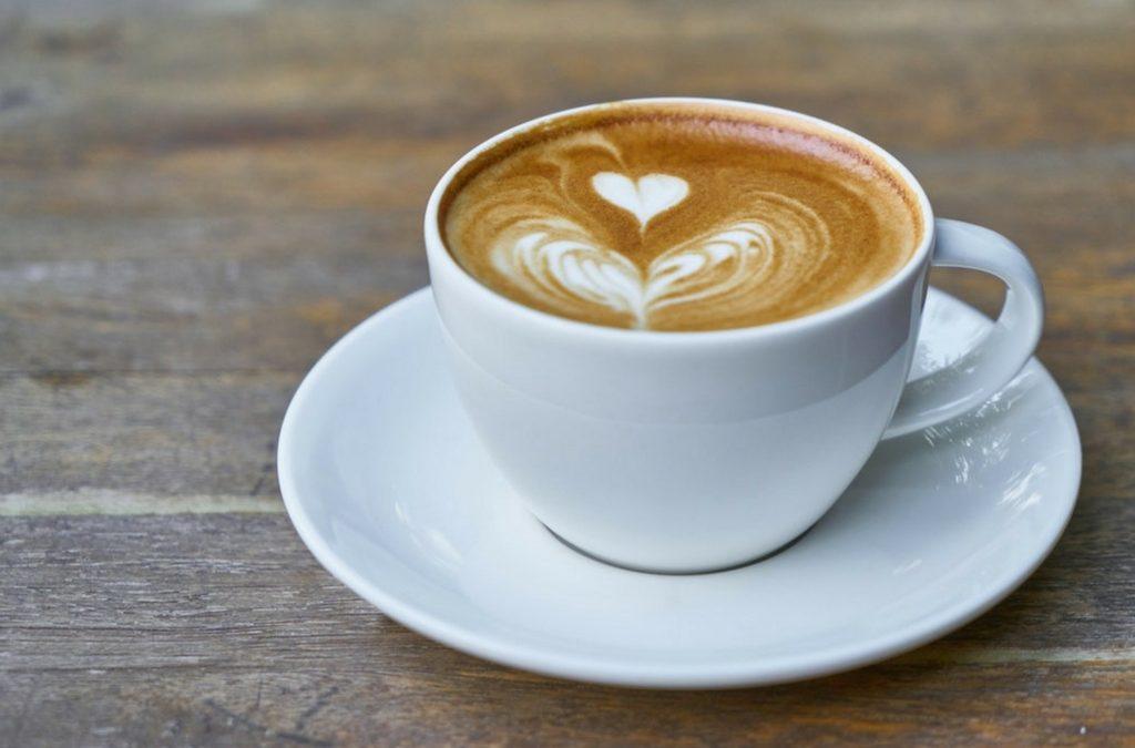 Koffie aan het begin van de dag?